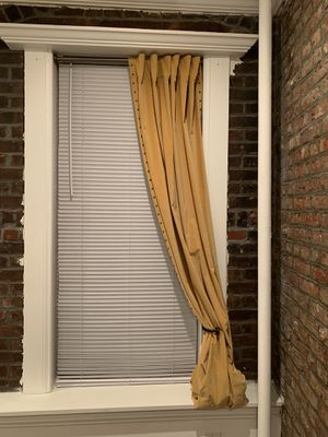 Curtains with decorative nailhead, velvet, West Elm for Sale in Jersey City, NJ