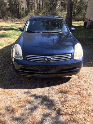 2003 Infiniti g35 sedan for Sale in Spartanburg, SC