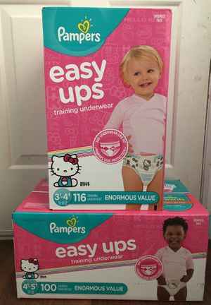 Pampers easy ups for Sale in Salt Lake City, UT