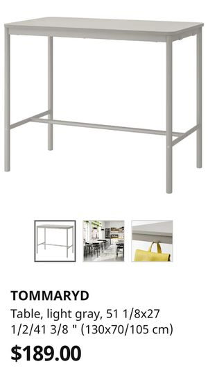 3 ~ IKEA Tommaryd Bar Tables for Sale in San Francisco, CA
