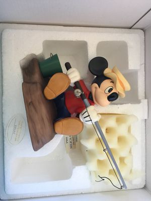 """Disney WDCC Mickey Mouse """"The Simple Things"""" Somethin' Fishy for Sale in Scottsdale, AZ"""
