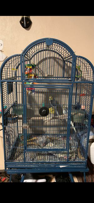 Bird cage/ metal for Sale in Philadelphia, PA
