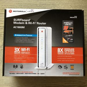 Arris surfboard DOCSIS 3.0 modem and router for Sale in Los Angeles, CA