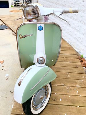 1968 Vespa VLB Sprint Olive white NEWLY renovated NYC plates for Sale in Queens, NY