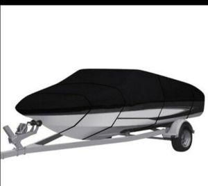 Waterproof Trailerable Boat Cover V-hull Fish Ski Bass 20-22ft for Sale in Rancho Cucamonga, CA