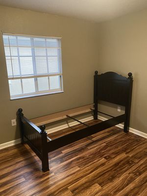 Twin Black Bed for Sale in Homestead, FL