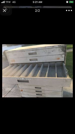 12 drawer lista / snap on tool box for sale or trade for Sale in Lytle Creek, CA