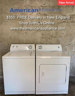 Whirlpool Washer and Electric Dryer Set, FREE Delivery! for Sale in Cranston, RI