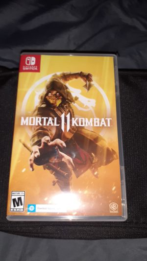Mortal kombat 11 new still in package for Sale in Tacoma, WA
