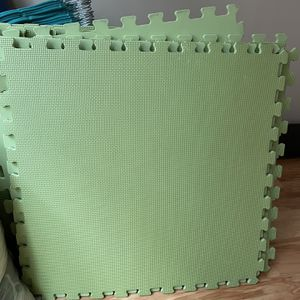 48 Square Feet (12 pieces) , Lime Green for Sale in Seattle, WA