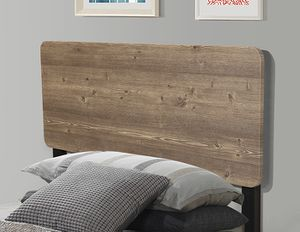 TWIN SIZE Platform Bed with Headboard / No Box Spring Needed  SKU# 7532T for Sale in Santa Ana, CA