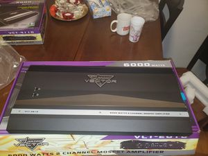 LANZAR 6000WATTS 2 CHANNEL AMP PERFECT FOR CHUCHERO BOXES OR SUBWOOFERS for Sale in The Bronx, NY