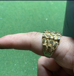 10k Nugget ring for Sale in Pflugerville,  TX