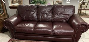 Two leather couches for Sale in Warren, MI
