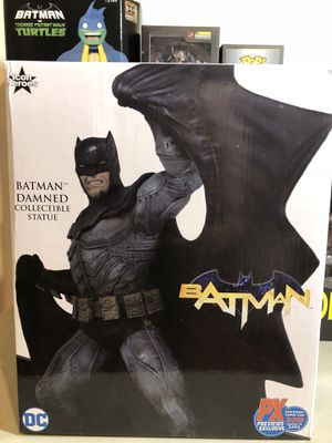 DC Comics Damned Batman PX Exclusive Action Figure Statue for Sale in Long Beach, CA