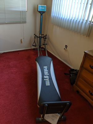 Total Gym Platinum Plus Rowing Machine for Sale in Paisley, FL