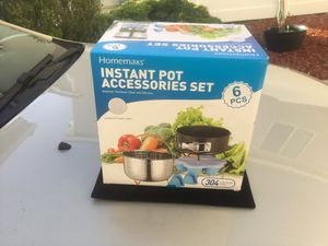 Instant pot accessories set for Sale in Temecula, CA