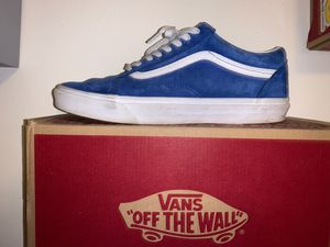 blue vans size 11 for Sale in Bunnell, FL