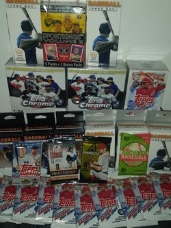 Huge Unopened Baseball Cards Lot for Sale in Tacoma,  WA