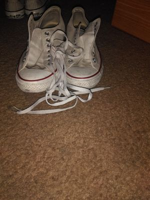 White/Creme Converse for Sale in Las Vegas, NV