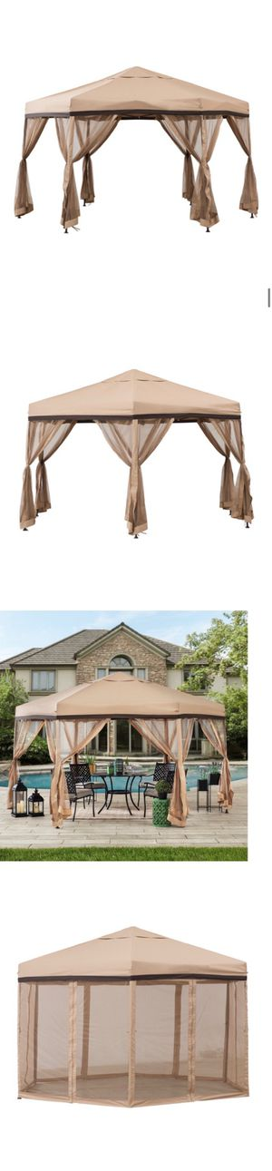 New 11 Ft. W x 11 Ft. D Steel Patio Gazebo for Sale in Hacienda Heights, CA