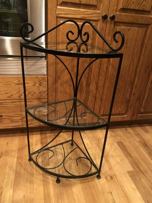 3 Tier Wrought Iron Shelf for Sale in Tigard, OR