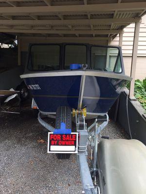 2019 Alumaweld 16' Fishing Boat - 5 Hours for Sale in Renton, WA