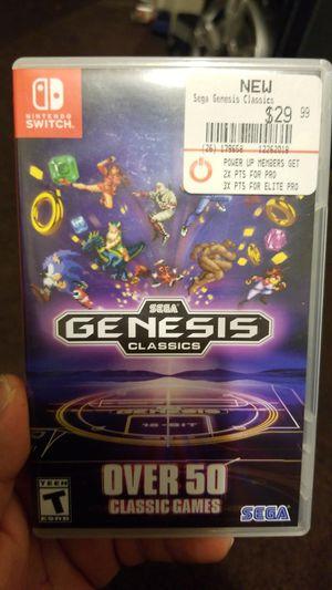 Nintendo switch sega genesis classics for Sale in Downey, CA