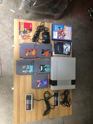 Nintendo NES very RARE MINT CONDITION with LOTS games for Sale in Medway, MA