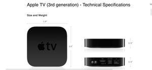Apple TV third-generation for Sale in Chandler, AZ