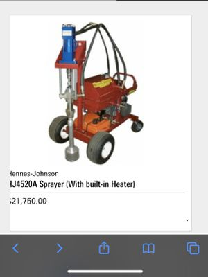Sprayer With built- in heater for Sale in Willow Spring, NC