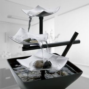 SHIPPING ONLY Tranquil Indoor Tabletop Fountain Home Decoration for Office Bedroom or Living Room for Sale in Las Vegas, NV