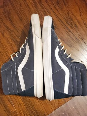 VANS Navy blue men's shoes size 13 suede for Sale in Burbank, CA