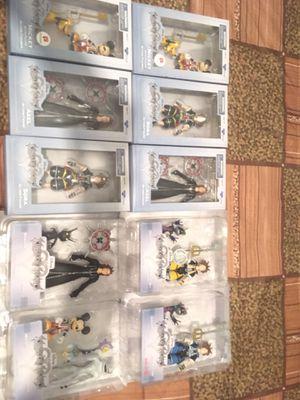 DIAMOND SELECT KINGDOM HEARTS FIGURES! for Sale in Dallas, TX