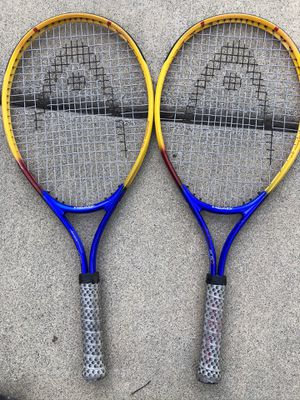 Child's tennis racquets and Adult racquetball rackets (3) for Sale in Elk Grove, CA