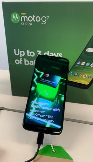 Get the MOTO G7 FREE when you drop your Carrier! Up to 3 day Battery life for Sale in Virginia Beach, VA