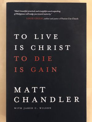 Matt Chandler To Live Is Christ to Die Is Gain for Sale in Silver Spring, MD