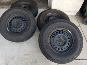 16 inch Rims and used tires set for Sale in Corona, CA