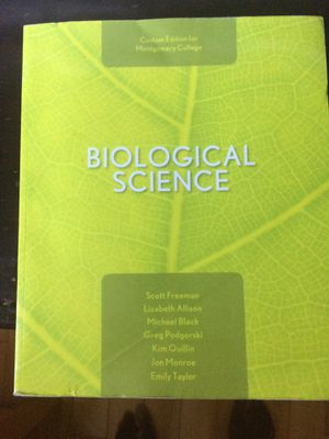 Biology 151 Textbook for Montgomery community college for sale for Sale in Washington, DC
