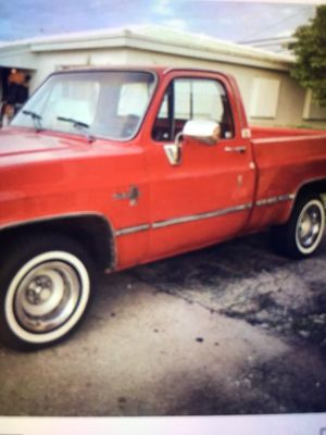 1986 Chevy Silverado short bed power windows power down excellent condition garage kept for Sale in Fort Lauderdale, FL