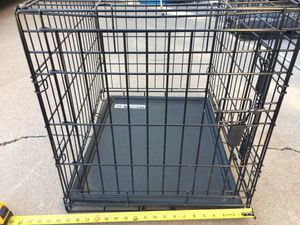Dog Crate with tray for Sale in Scottsdale, AZ
