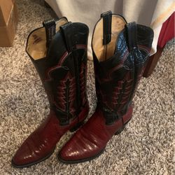 Women's Lizard boots By panhandle slim Gc for Sale in Oklahoma City,  OK