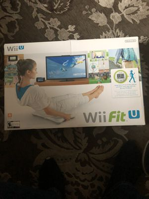 WII FIT U-NINTENDO ... Never used still in original packaging (as pictured) for Sale in Winfield, IL