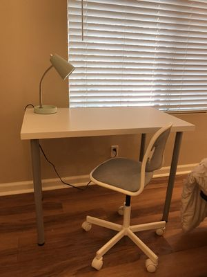 Desk and chair IKEA for Sale in Oceanside, CA