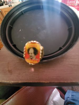 Vintage plastic '60s 3d Three Stooges Larry Ring for Sale in Estancia, NM