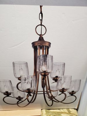 Brand new 9-light Chandelier Check my page 25.33 in × 28 in chain adjusts up to 84 in Make me offer for Sale in Auburn, WA