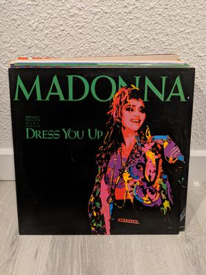 Vinyl Single-Madonna- Dress you up for Sale in Seattle, WA