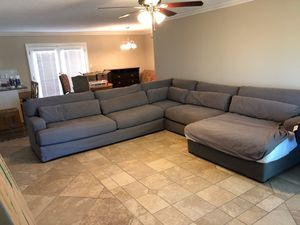 Very comfortable and large custom Sectional. for Sale in Phoenix, AZ