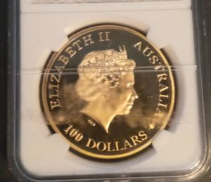 2015 $100 Gold Coin .5 oz solid gold .9999 Purity for Sale in Selbyville, DE