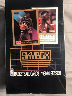 Skybox NBA unopened box 1990-1991 for Sale in Olalla, WA